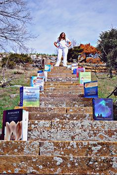 College Graduation Session.. Aww too bad where I live there aren't any sites with steps. :(