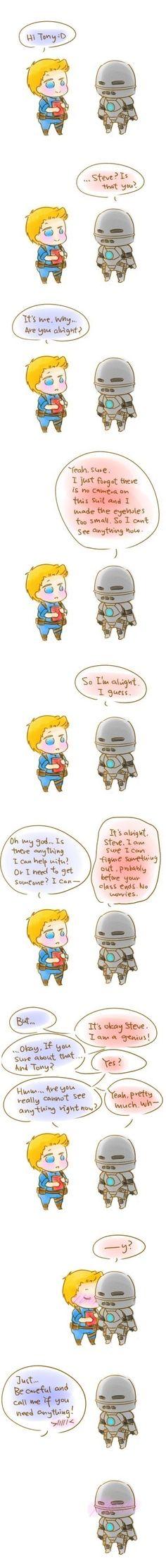 #Stony #SteveRogers #CaptainAmerica #TonyStark #IronMan #AvengersAcademy