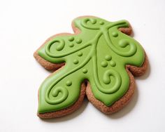 Autumn Sugar Cookies by guiltyconfections on Etsy