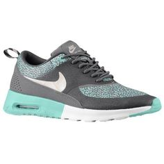 QCFCA: Nike Air Max Thea Women's Trainers Print Dark Gray Jade White