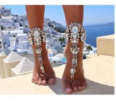 Cheap anklet bracelet, Buy Quality crystal anklet directly from China leg chain Suppliers: Best lady One Piece Long Summer Vacation Anklets Bracelet Sandal Sexy Leg Chain Women Boho Crystal Anklet Statement Jewelry 3226 Anklet Bracelet, Anklet Jewelry, Body Jewelry, Feet Jewelry, Foot Bracelet, Chain Jewelry, Jewelry Bracelets, Male Jewelry, Jewelry Stand