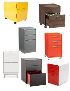 Best Under Desk File Cabinets 2013  Apartment Therapy's Annual Guide
