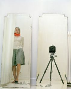 ELINA BROTHERUS Artist and Model Reflected in a Mirror 3