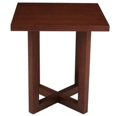 Regency Seating 21 Square Inch Veneer End Table, Cherry By Regency Seating.  $84.99. Meets Ansi Bifma Standards. Sturdy Design. Perfect For You Office/lobby  ...