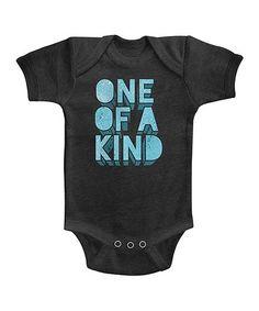 Look at this #zulilyfind! Smoke & Blue 'One of a Kind' Bodysuit - Infant #zulilyfinds