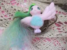 Fairy Tale Love Birds Fuzzy Tummy My Little Ponies Pony by Daysgonebytreasures on Etsy