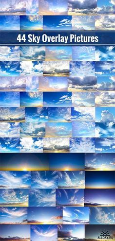 Sky Overlays - 44 Cloud Pictures - 691518