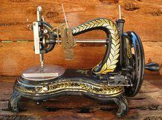 Jones Serpentine Sewing Machine