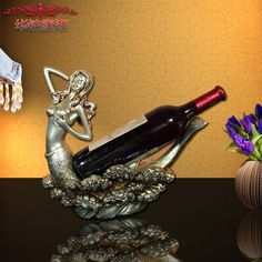 Find More Figurines & Miniatures Information about 2016 Rushed Home Decoration Accessories Resin Craft Ornaments Furnishing Wine Frame Living Room Decorative Mermaid Wedding Gift ,High Quality gift chinese new year,China craft album Suppliers, Cheap craft set from Wooden box / crafts Store on Aliexpress.com