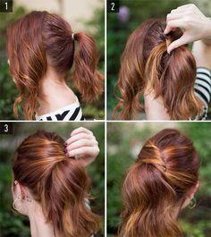 peinados fciles y rpidos paso a paso modelos