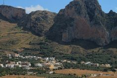 Sicily inlands by Golfo di Cofano, Sicily