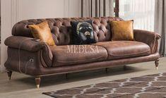Sofa Furniture, Luxury Furniture, Furniture Design, Couch Design, Wall Design, Living Room Sofa, Living Room Decor, Metal Sofa, Upholstered Sofa