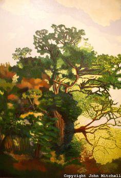 """Maria Kahn, """"Rocas y arbustos"""" (1998). Museo de Arte de El Salvador (MARTE), San Salvador, El Salvador"""