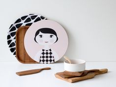 Image of Bandeja Plato Madera Filandesa Nämä I Love Mondays, 3 Things, Finland, Cutting Board, Design Inspiration, Kitchen Inspiration, Decorative Plates, Sweet Home, Concept