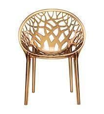 CRYSTAL PC NILKAMAL PREMIUM CHAIRS GOLDEN