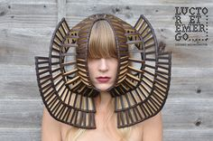 Luctor et Emergo headpieces  Designs by Stefanie Nieuwenhuyse,Photography by Jordan Harding