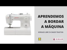 MÁQUINA SINGER TRADITION LIDL// ACCESORIOS INCLUIDOS // SORPRESA FINAL // KIT BÁSICO DE COSTURA - YouTube Singer 2250, Singer Facilita, Sewing Hacks, Sewing Tutorials, Singer Tradition, Beaded Embroidery, Embroidery Stitches, Embroidery For Beginners, Sewing For Kids