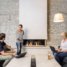 Trisore 140 Fireplace By Modern Gas
