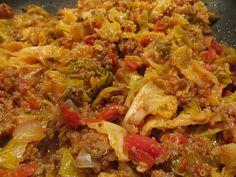 Halupki Stirfry (with Cabbage)