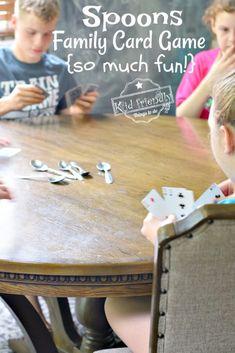 Family Games For Kids, Family Card Games, Fun Card Games, Games For Boys, Fun Games, Party Games, Games To Play, Kids Fun, Teen Fun