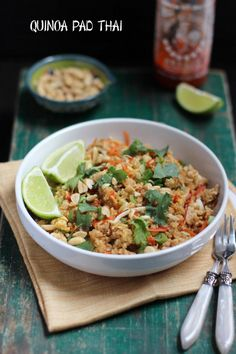 Quinoa Pad Thai | Busy in Brooklyn | Bloglovin'