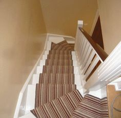 Stairs to loft conversion, similar to carpet I have in the house! Attic Loft, Loft Room, Attic Rooms, Attic Spaces, Bedroom Loft, Loft Conversion Stairs, Loft Conversions, Attic Conversion, Loft Staircase