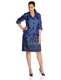 Fashion Bug Womens Plus Size Tapestry Print Skirt Set Border Print www.fashionbug.us #PlusSize #FashionBug #Wedding