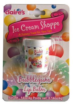 Claire's Bubblegum lip balm | Flickr - Photo Sharing!