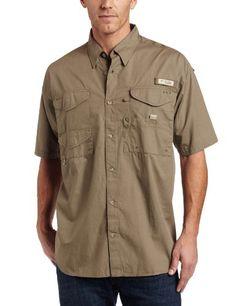 Columbia Men's Bonehead Short Sleeve Shirt,SAGE,Medium « Impulse Clothes