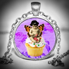 Fairy Pendant  Fairy Necklace  Fairy Jewelry  Fairy by Jaylos, $8.00