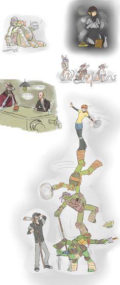 Turtle doodle dump by Samantai on DeviantArt