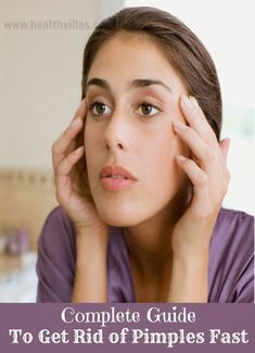 Complete Guide to Get Rid of Pimples Fast - Trying Dermatologist Solutions,Glues., Beauty, Complete Guide to Get Rid of Pimples Fast - Trying Dermatologist Solutions,Glues and Masks and Washroom Cures. Source by TruBeautyLabs. Pimples Under The Skin, How To Get Rid Of Pimples, Get Rid Of Blackheads, Wrinkle Remedies, Pimples Remedies, Headache Remedies, Growing Long Hair Faster, Grow Long Hair