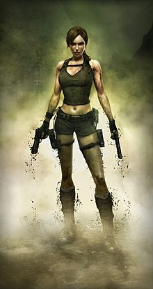 Lara Croft, a beautiful, intelligent, and athletic British archaeologist-adventurer who ventures into ancient, hazardous tombs and ruins around the world.