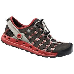 Salewa Capsico Shoe  Womens Ebano  Poppy Red 9 -- Want to know more, click on the image. (This is an affiliate link) #WomensHikingandTrekkingShoes