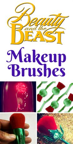 OMG! We have the lowdown on these Beauty and the Beast Makeup Brushes!