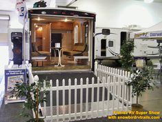 Visiting the huge Florida RV Super Show with snowbirdrvtrails.com! Rv Show, The Fl, Florida, The Florida