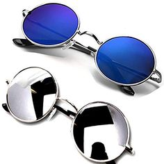 7590039927 Y S Unisex UV protected Square Men s Womens Boys and Girls Sunglasses Combo  Round Blue Mercury And