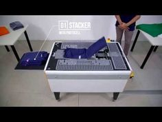 Speedy-T | T-SHIRT Folding and Packaging Machine - YouTube