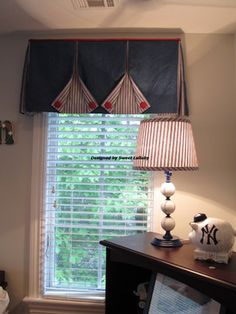 Box Pleated Valance Design Ideas For Sweet Boy Bedroom