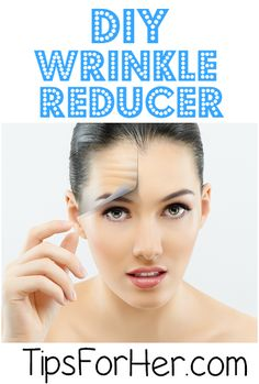 DIY Wrinkle Reducer - Facial mask that helps to reduce wrinkles, moisturize your skin, and bring back that youthful glow.