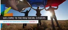 Check out SocialCitizens.org, our initiative for young, inspired, and passionate people looking to change the world!