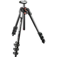 Manfrotto MT190CXPRO4 Carbon Fiber Tripod -Set up is faster than ever with Manfrotto's Quick Power Lock System that allows you to completely extend the tripod legs with just one hand