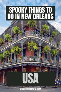 Dark Travel in New Orleans, things to do in New Orleans, Spooky things to do in New Orleans, ghost tours in the French Quarter, things to do in the french quarter New Orleans, French Quarter history, tours in New Orleans, cemeteries in New Orleans, Voodoo history in New Orleans, Marie Laveau's House of Voodoo, Voodoo Queen of New Orleans, things to do in NOLA, wanderingcrystal, haunted places to visit in New Orleans, vampires in New Orleans, St Louis Cemetery No 1 #NewOrleans #DarkTravel… St Louis Cemetery, Stuff To Do, Things To Do, Marie Laveau, New Orleans Travel, Ghost Tour, Haunted Places, French Quarter, Adventure Awaits