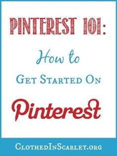 Pinterest 101: How to Get Started on Pinterest. This post has very detailed, step-by-step instructions on:  How to set up your Pinterest account, How to verify your website on Pinterest and How to convert your personal Pinterest account into a business account. It has everything you need to know about setting up your Pinterest account right, so it drives more traffic back to your site.