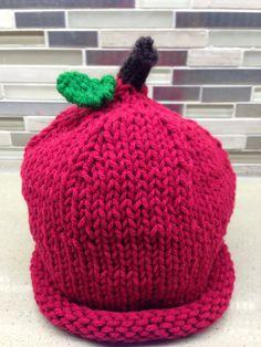 Baby Apple Hat