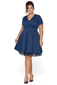 Světle modré šaty Lindy Bop Světle modré šaty Lindy Bop Audrey ... 877608344c6