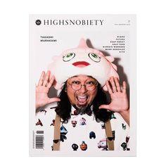 Takashi Murakami on the cover of Highsnobiety Magazine Issue 11.  Price: 10000 DKK  http://ift.tt/1FcDxHS - Storm Copenhagen