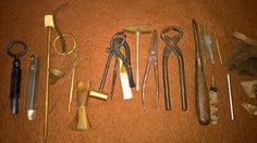 Flintlock accessories and tools