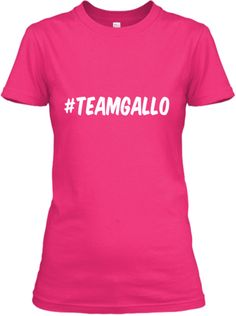 6 days left and 6 shirts to go! #TeamGallo Clothing~Men of Inked Series