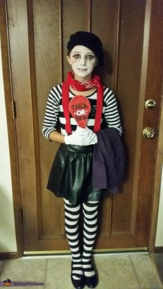 easy mime costume costume ideas pinterest mime costume costumes and halloween goodies - Mime For Halloween